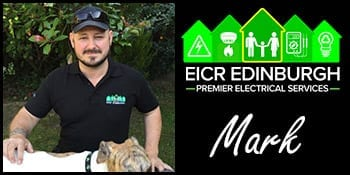 Electrician in Edinburgh Mark