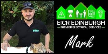 Electrician in Edinburgh Mark
