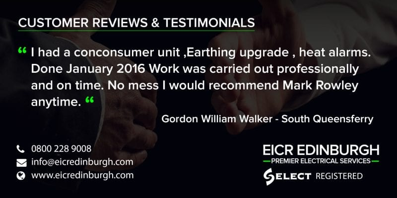 electricians testimonials