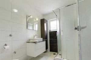 Example of electric shower installations