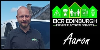 Edinburgh electrician aaron